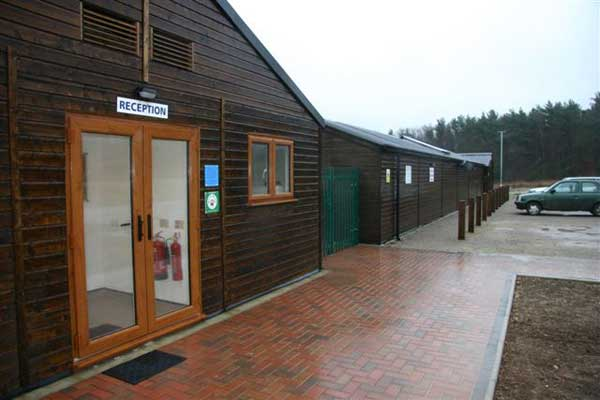 Broadwater Forest Wildlife Hospital Reception