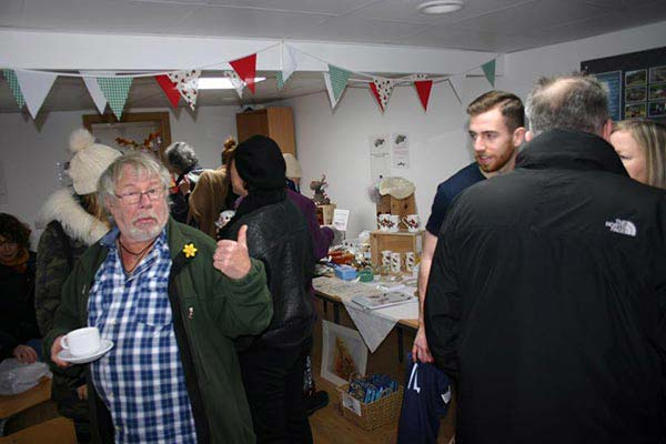 Bill Oddie, one of our patrons, at a Broadwater Forest event
